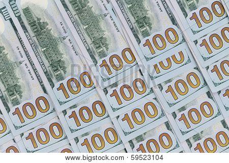 100 Dollar American Banknotes
