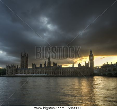 Storm Clouds Over London