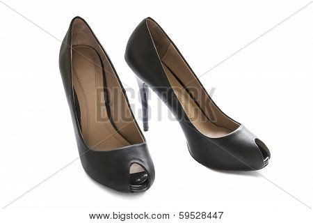 Glamour Black Shoes