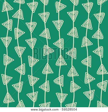 creative triangle design pattern background vector