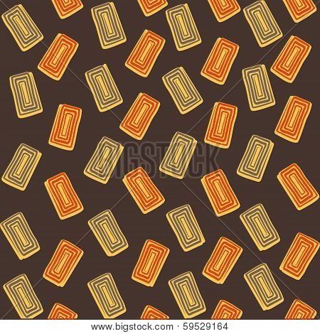 creative rectangle design pattern background vector