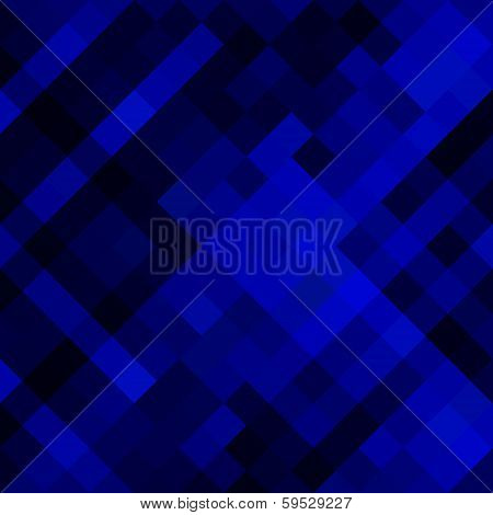 creative square pattern in blue background vector