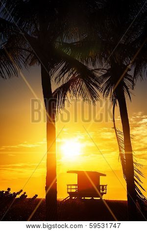 Miami South Beach Sunrise