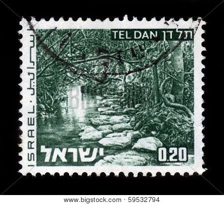 Creek Tel Dan, Landscapes Of Israel