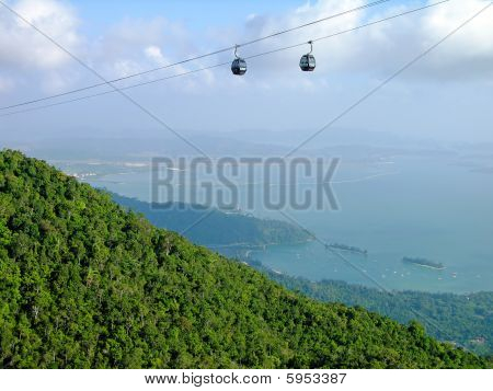 Langkawi hill cable car, Malaysia