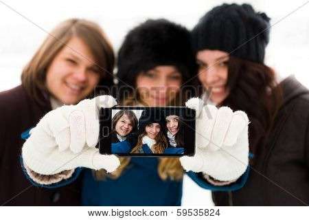 Girlfriends Selfies