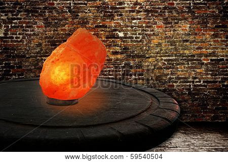 Himalayan Salt As Lamp