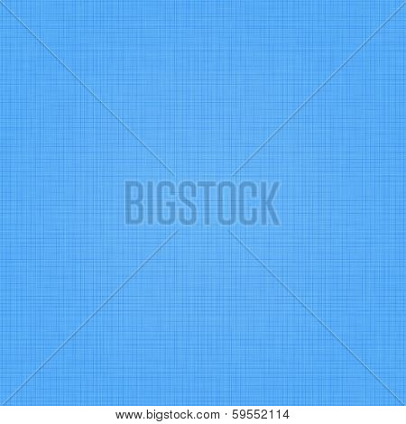 Realistic blue linen texture pattern. Blue seamless linen background texture. Seamless texture of blue cloth. Vector illustration. Vector eps10.