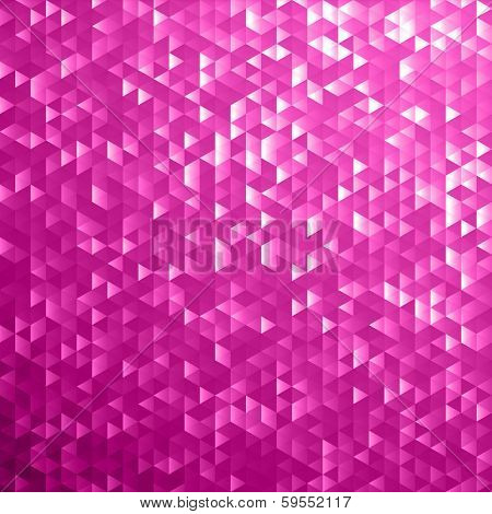 Pink blinking glitter background.Glittering sequins mosaic pattern.