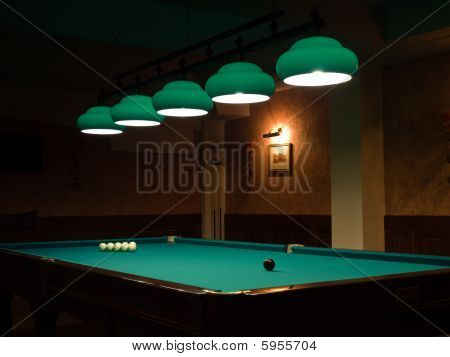 Room For Playing Billiards
