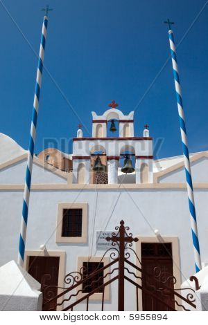 Church On Island Santorini 1
