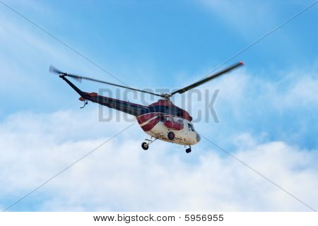 Mi 2 Helicopter In The Sky