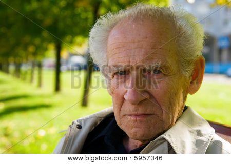 Displeased Senior