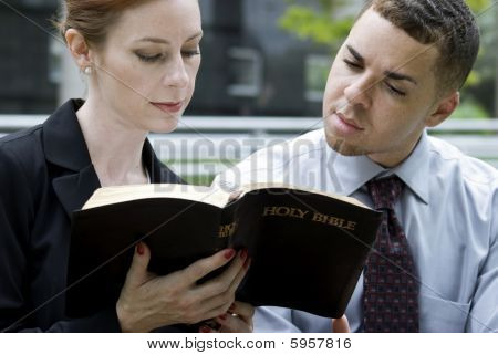 Business People And The Bible