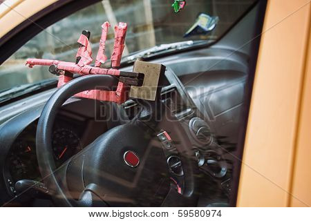 security steering wheel anti-theft vehicle - domestic production