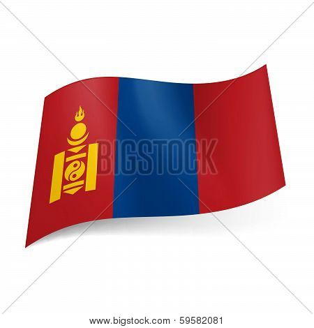 State flag of Mongolia