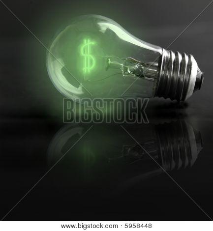 Lightbulb Green