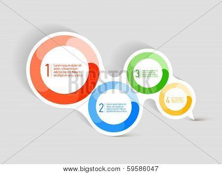 Attractive Speech bubble symbol