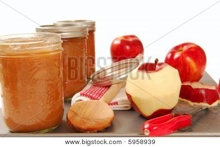 Freshly Preserved Apple Sauce