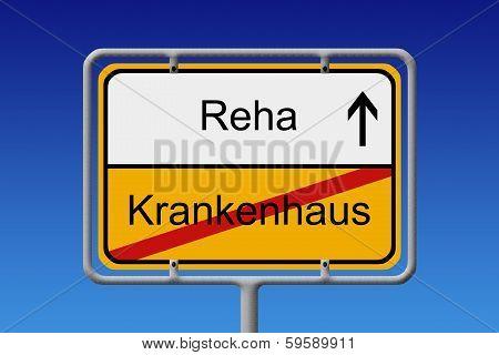 Krankenhaus - Reha