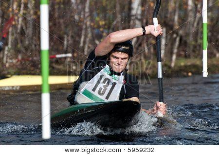 Corrida de canoa