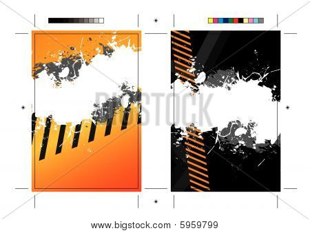 SplatterPostcard Template