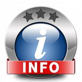 picture of more info  - info blue icon more information sign additional info icon read more button - JPG
