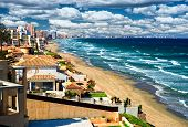 picture of manga  - Beautiful tropical beach La Manga seaside Spain - JPG
