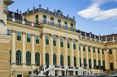 picture of sissy  - Schonbrunn Palace front facade architecture  - JPG