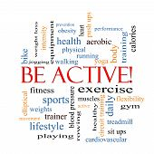 pic of cardiovascular  - Be Active - JPG