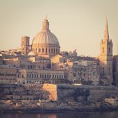 image of olden days  - Valletta - JPG