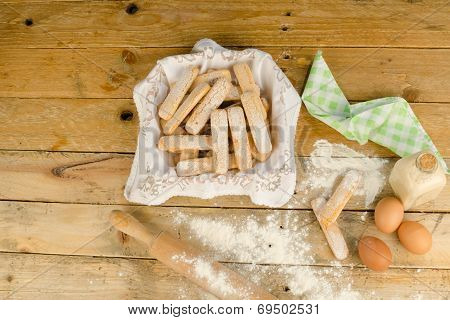 Baking Ladyfinger Biscuits