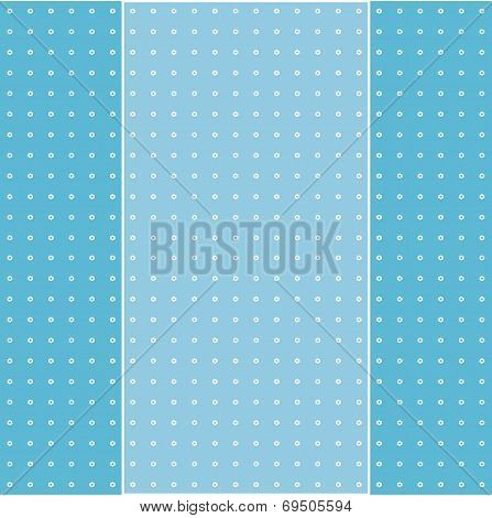 Colorful Greeting Card On Flowery Pattern Background