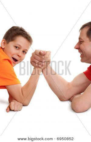Funny Arm Wrestling