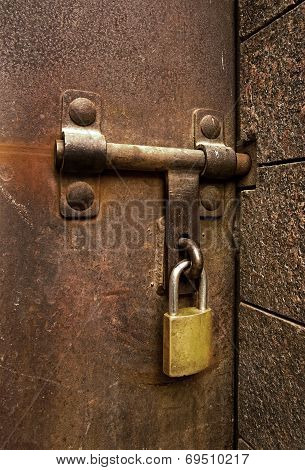Lock, Bolt and Hasp