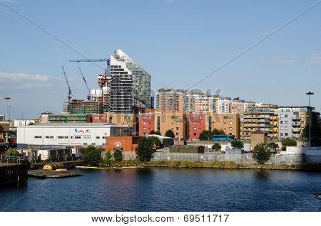 London Docklands, Poplar