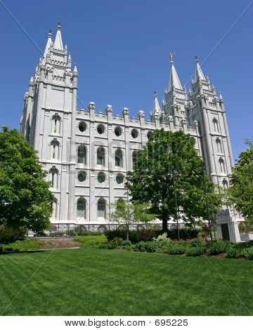 poster of Salt Lake City Mormon Temple