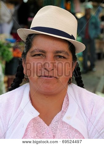Ecuador, Ethnic Latin Woman