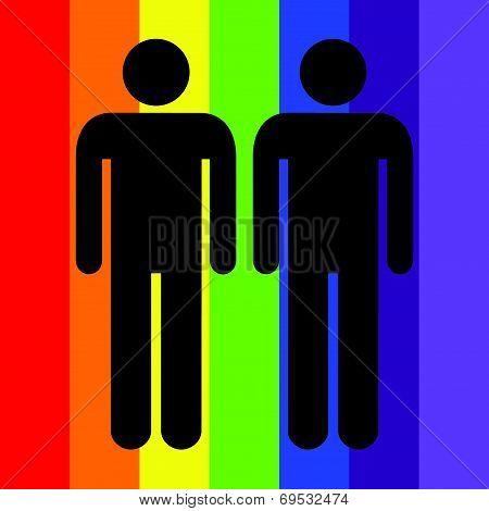 Illustration Of Gay Love