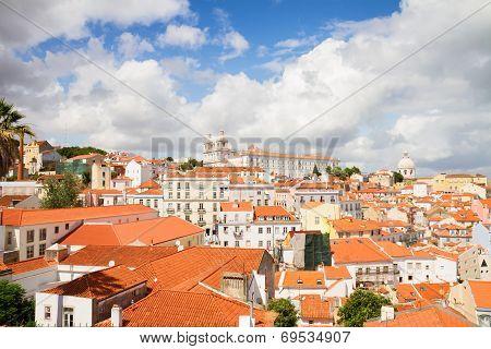 The Graca quarter, Lisbon, Portugal