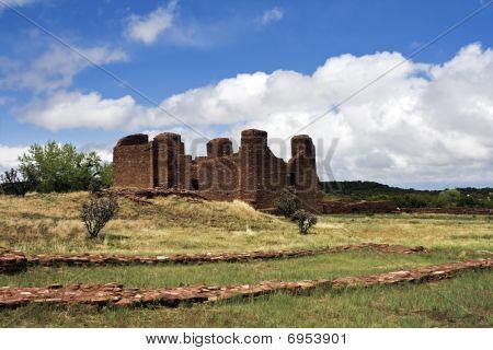 Abo Pueblo Ruins