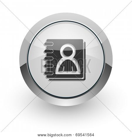 address book internet icon