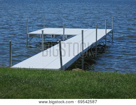 Dock At Lakeside