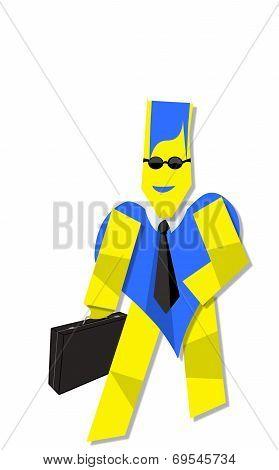 Bodyguard With Black Sunglasses