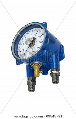 Electric Contact Pressure Gauge.