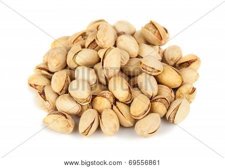 Heap Of Pistachio Nuts
