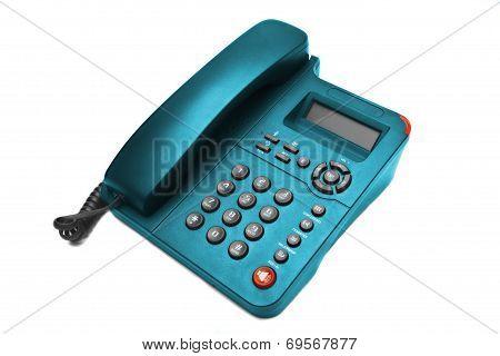 Blue Phone Closeup