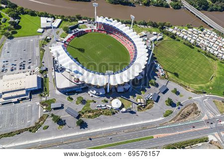 Gold Coast, Australia - June 16: Aerial View Of Metricon Stadium On June 16, 2013 On Gold Coast, Aus