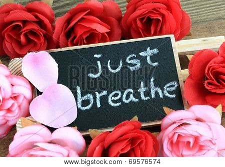 message of just breathe