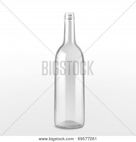 Empty Glass Bottle